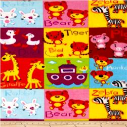 Baby Animal Blocks Multi