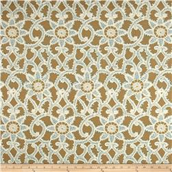 Waverly Like Lace Metallic Topaz