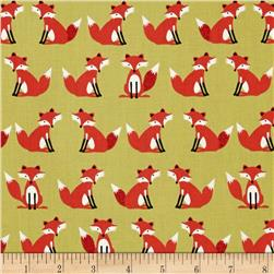 Forest Friends Foxes Red/Gold