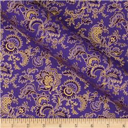 Alchemy Metallic Jacobean Purple