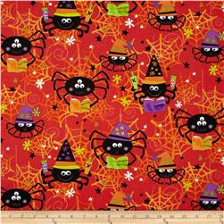 Kanvas Spooktacular II Spider Spells Orange