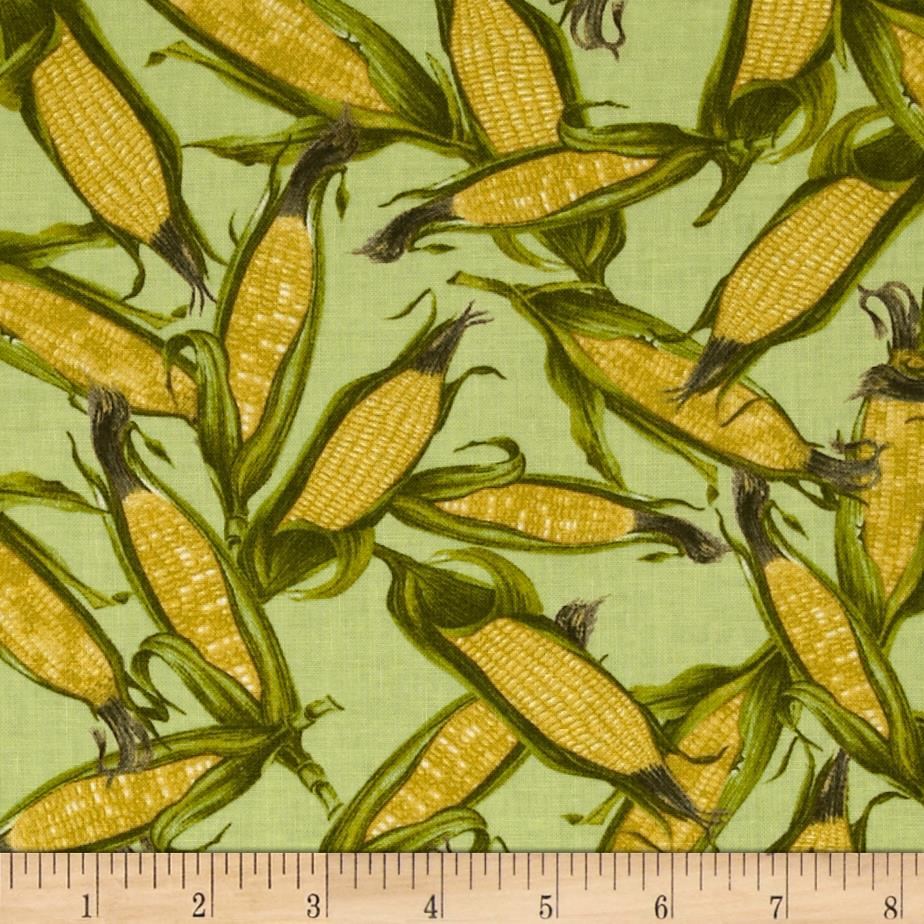 Moda Fresh Picked Corn Green