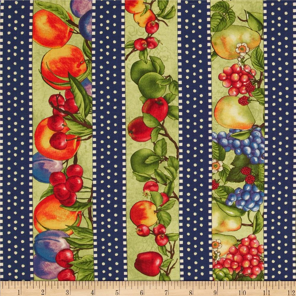 Nature's Expressions Fruit Repating Stripe Multi