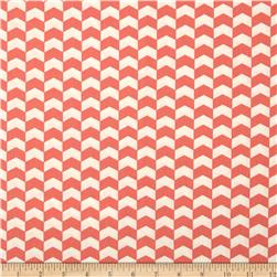 Kate Chevron Grapefruit