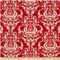 Angel Band Picture Damask Red