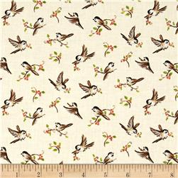 Forest Frolics Birds Cream