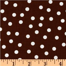 Remix Polka Dots Brown