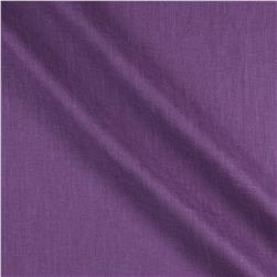 European 100% Washed Linen Purple