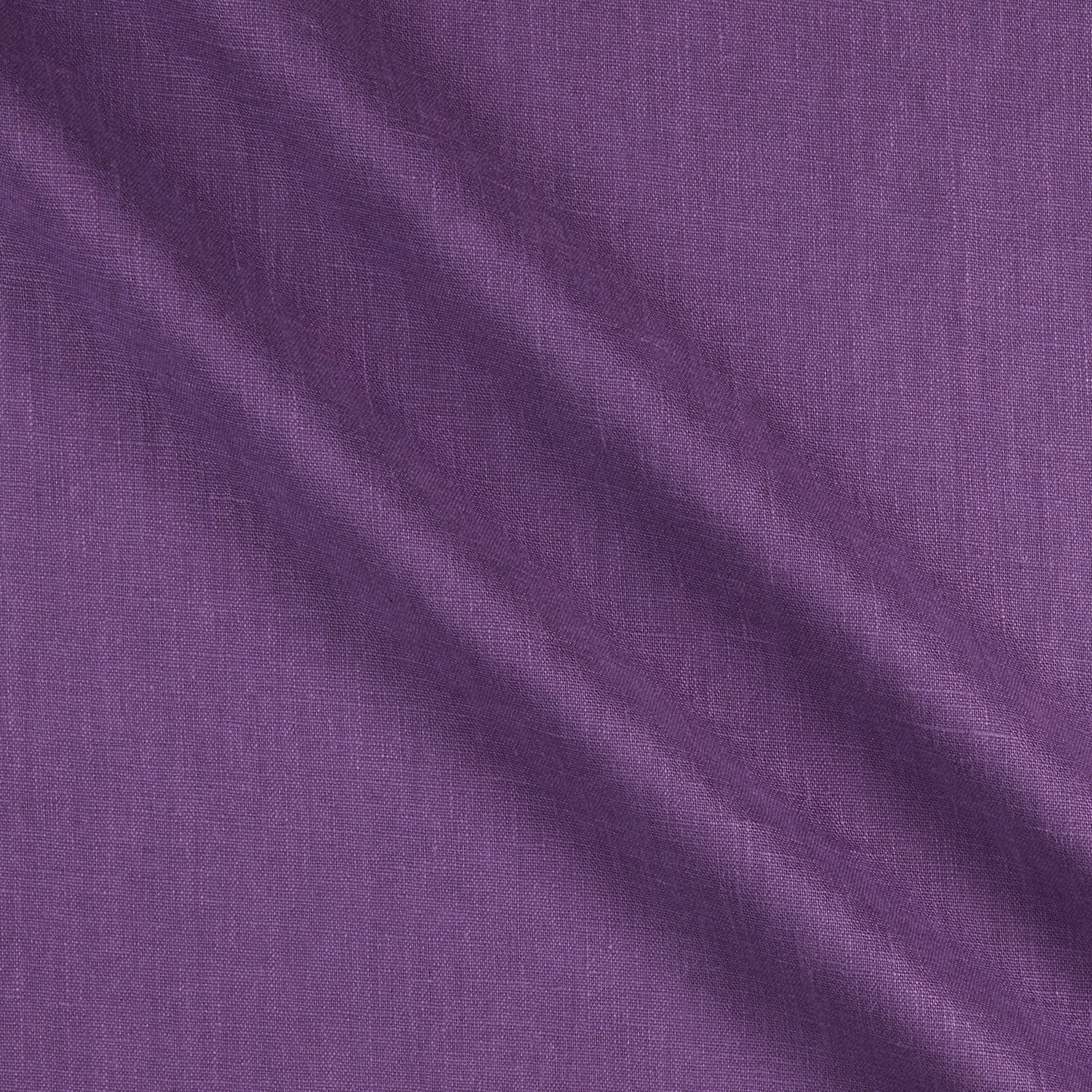 European 100% Laundered Linen Purple Fabric by Noveltex in USA