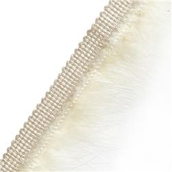 "Jaclyn Smith 2.25"" 03935 Brush Fringe Fleece"