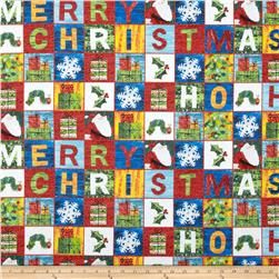 The Very Hungry Caterpillar Christmas Blocks Multi