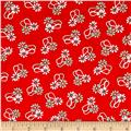 Hello Jane Loop Flower Red