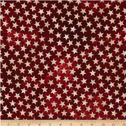 Stonehenge Land of the Free Stars Red/Beige