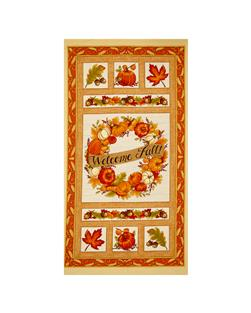 Moda Welcome Fall Panel Cream