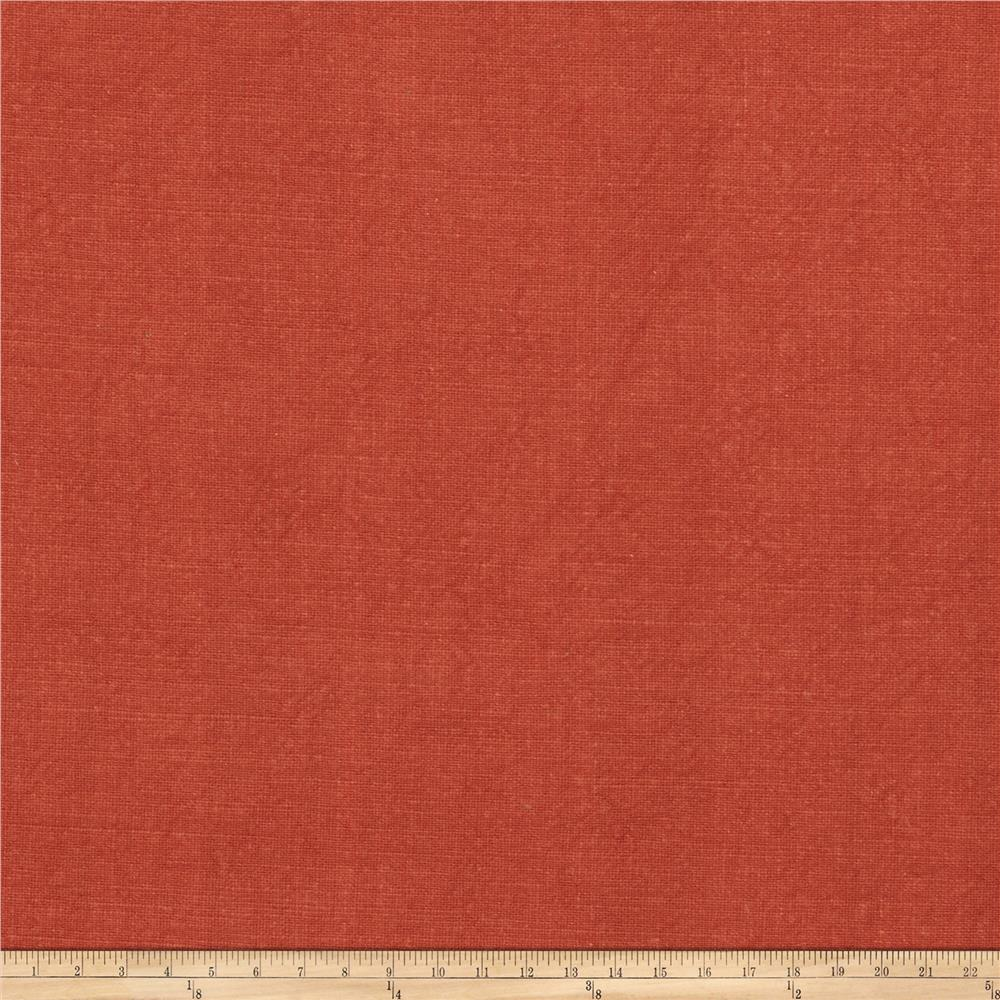 Fabricut Elements Linen Blend Paprika
