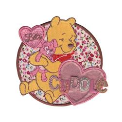 Disney Winnie The Pooh Iron On Applique Let's Cuddle