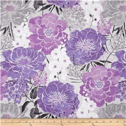 Purple Haze Large Allover Gray/Purple