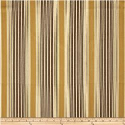 Bartow Umbrella Stripe Woven Brass