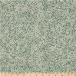110 In. Wide Quilt Back Willow Hunter Green