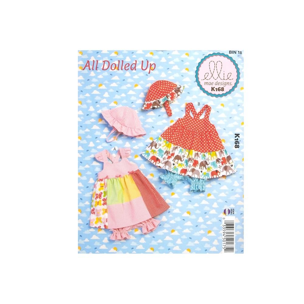 Ellie Mae Designs All Dolled Up Baby Dress,