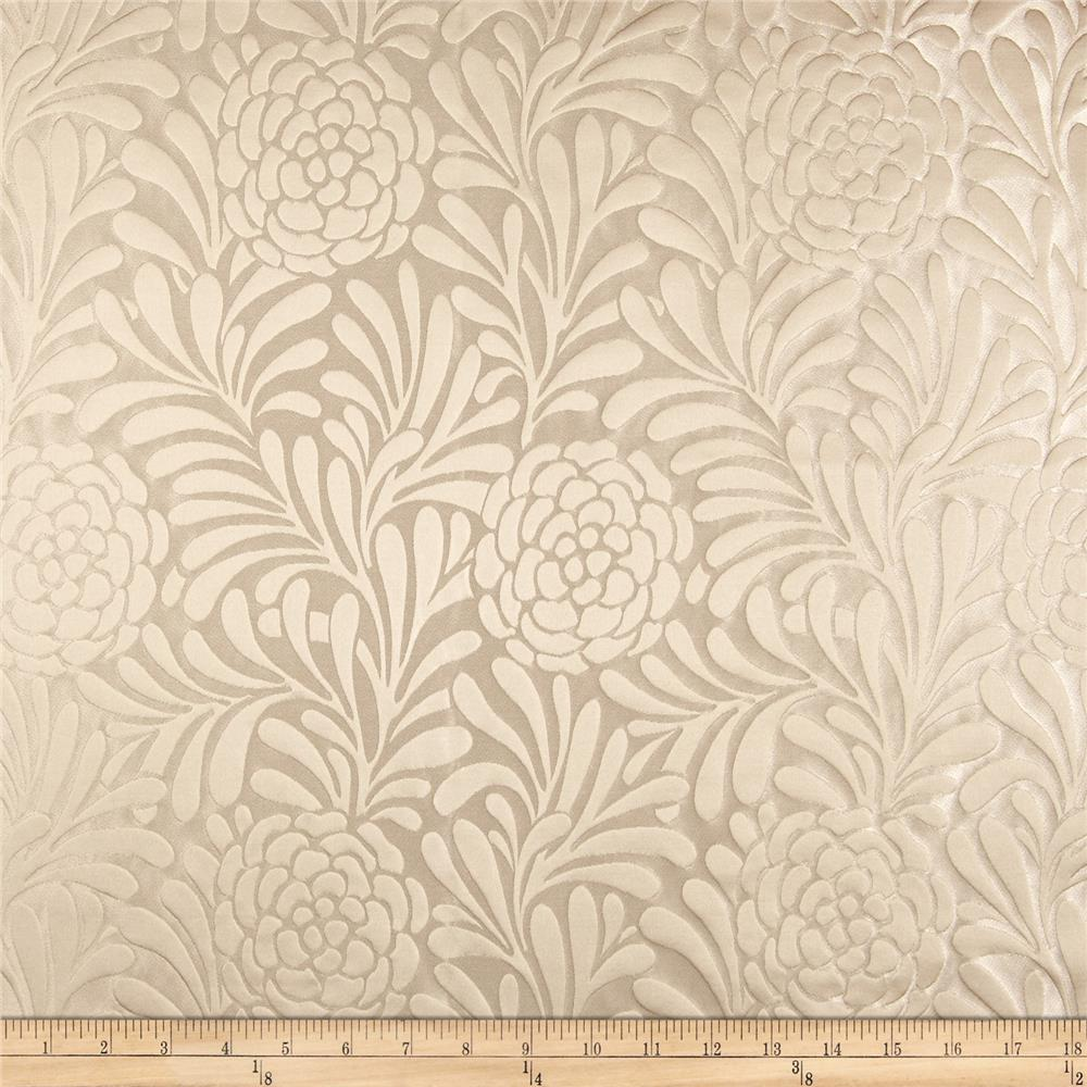 Richloom Bosworth Satin Jacquard Cream
