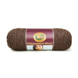Lion Brand Fishermen's Wool Yarn (126) Nature's Brown