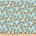 Bundle Of Joy Flannel Bottles of Joy Light Sky Blue