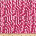 Joel Dewberry True Colors Herringbone Pink