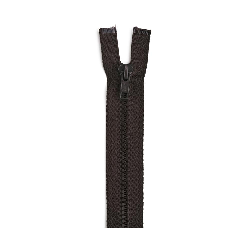 "Sport Separating Zipper 28"" Cloister Brown"