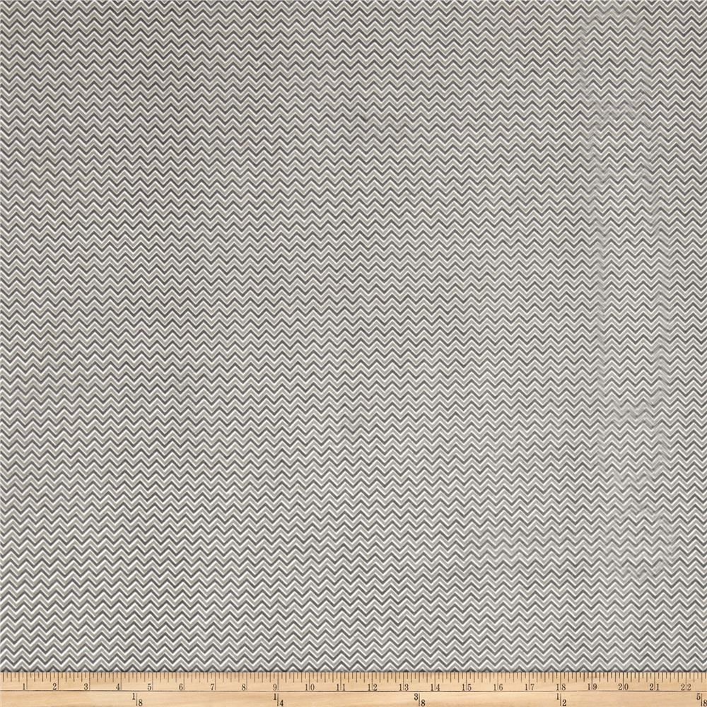 Alpine Flannel Chevron Flannel Gray