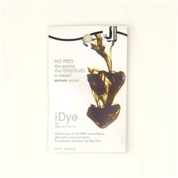 Jacquard iDye Natural Fiber Dye Brown