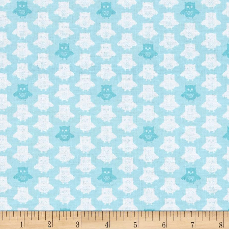 Contempo Owls And Pals Owls Turquoise