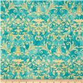 Holiday Dreams Foulard Teal