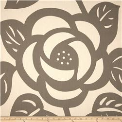 Seedlings by Thomas Paul Deco Rose Twill Grey
