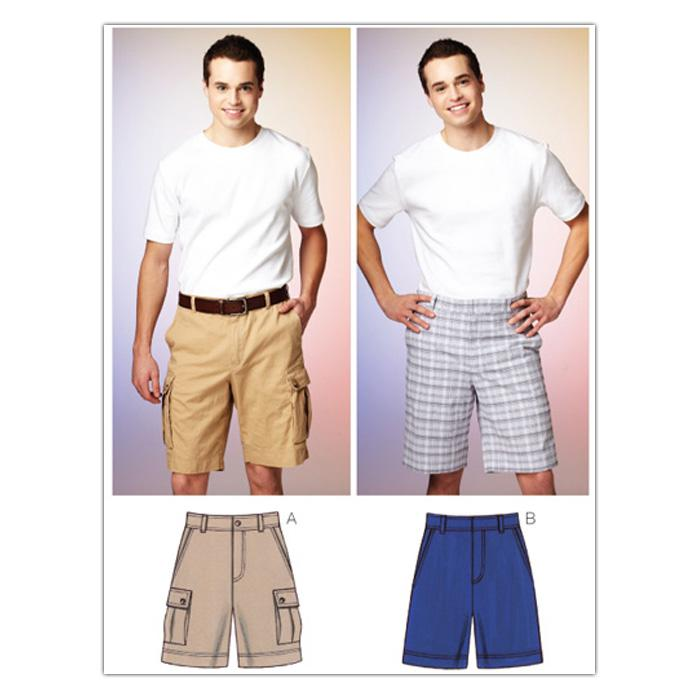 Kwik Sew Mens Men's Shorts (3884) Pattern