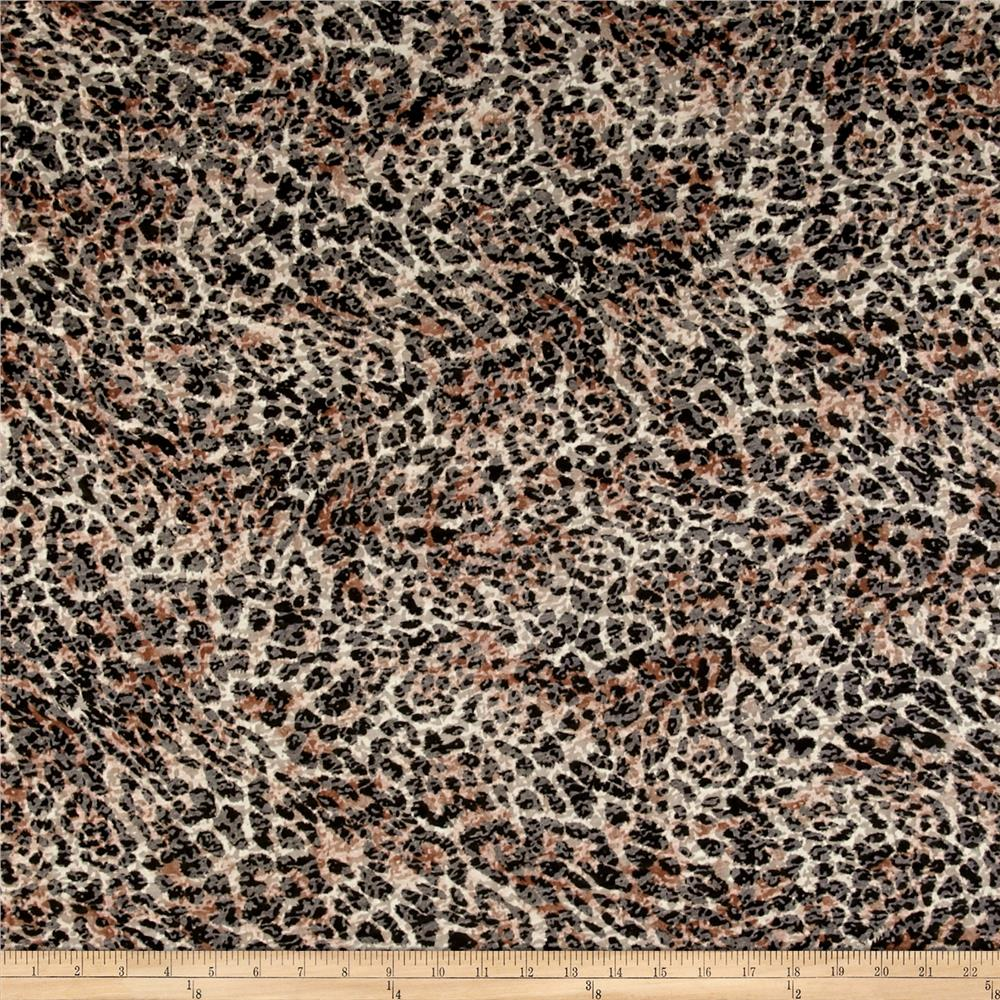 Rihan Jersey Knit Burnout Cheetah