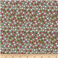 Riley Blake A Merry Little Flannel Merry Dots Grey