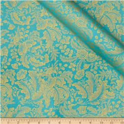 Alchemy Metallic Botanical Aqua