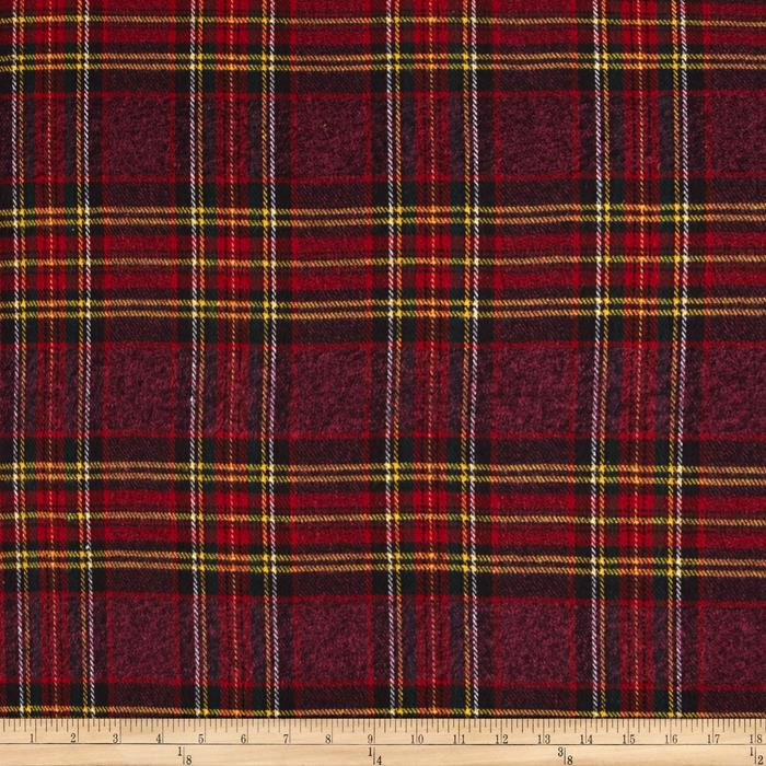 Vancouver Flannel Plaid Purple/Red