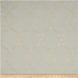 World Wide Faux Linen Sheer Merano Ivory/Ivory
