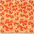 Tie Dye Swirl Yellow/Red