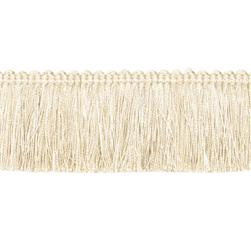 Expo 2'' Brush Fringe Ivory