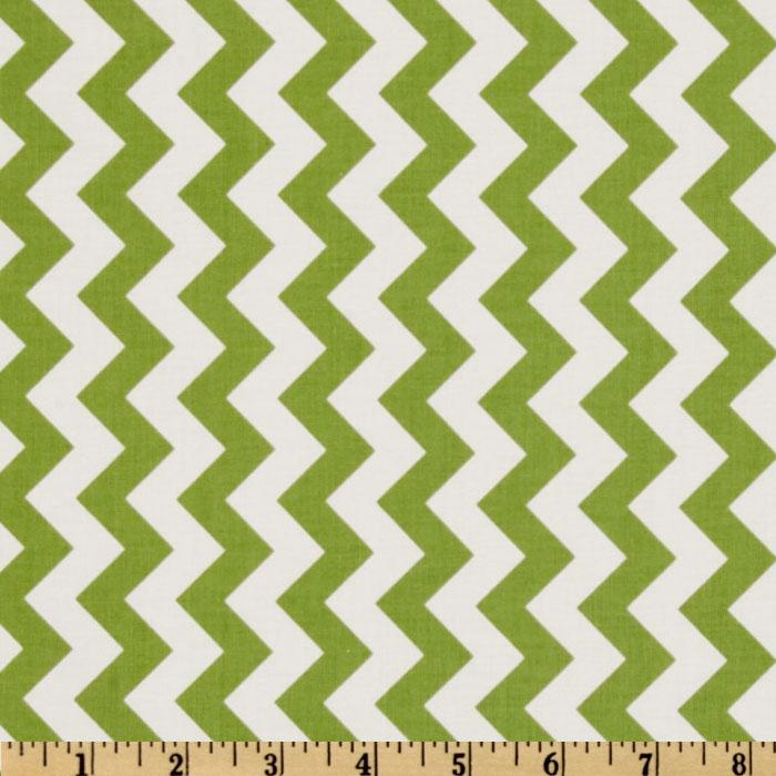 Riley Blake Chevron Small Green