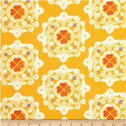 Ty Pennington Home Decor Sateen Fall 11 Delhi Yellow