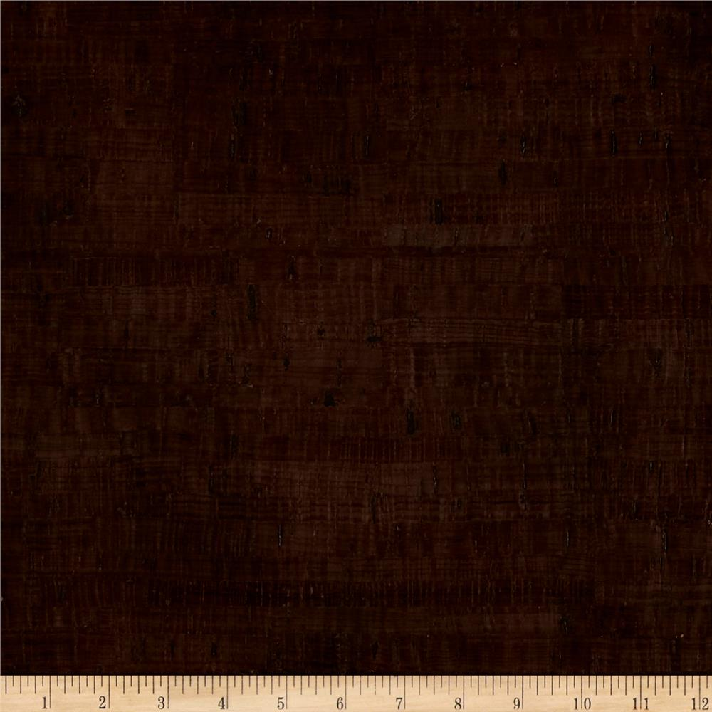 EverSewn Cork Fabric 1 Yard Espresso