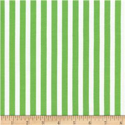 Timeless Treasures Tribeca Simple Stripe Green