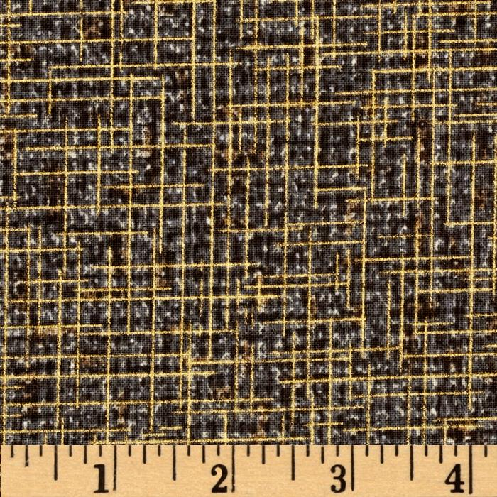 Quilter's Burlap Metallic Shadow