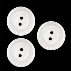 Glass Button 5/8'' Clear Lake Clear
