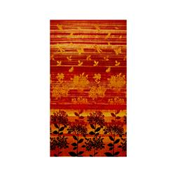 Nature Studies Border Print Orange