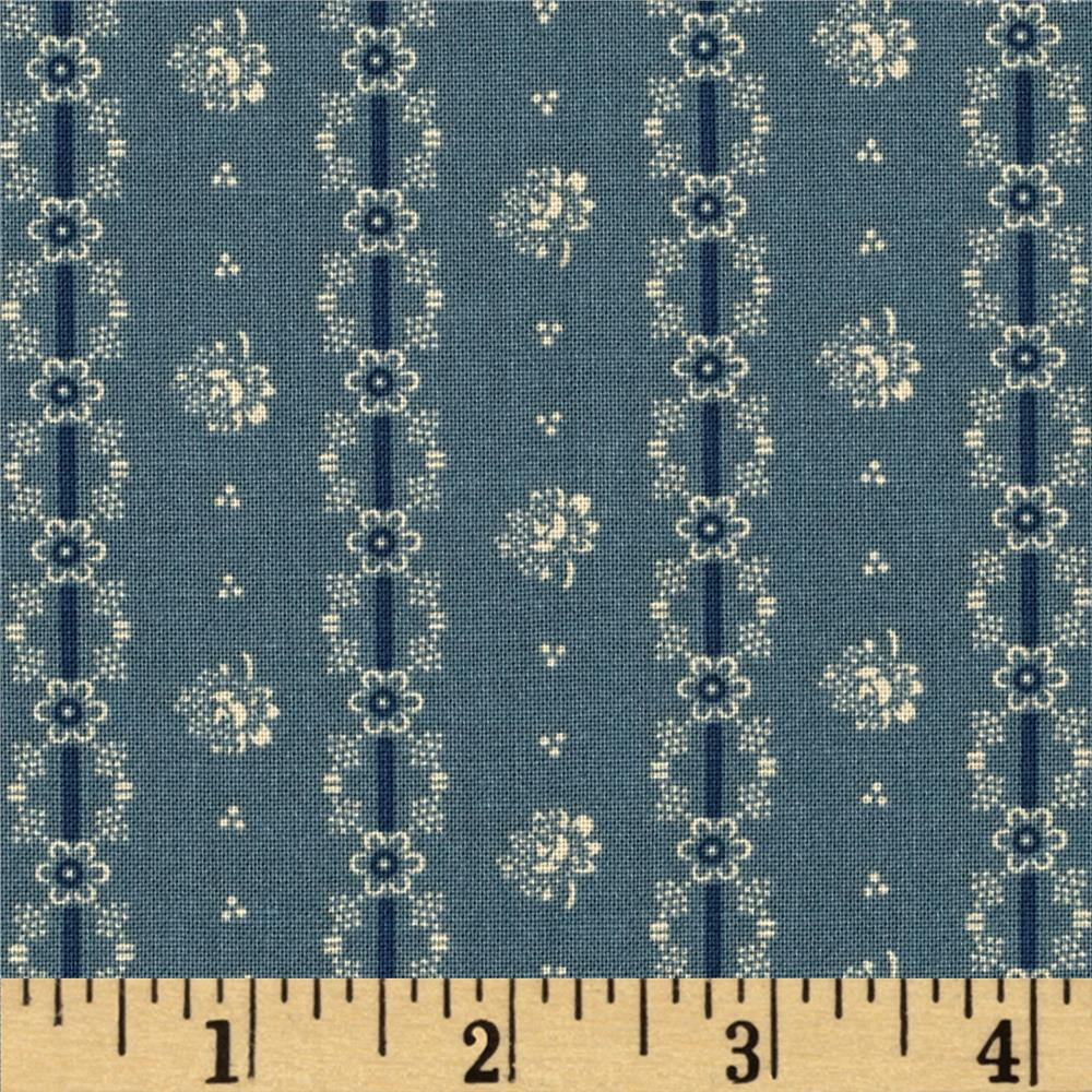 Penny Rose Americana Floral Blue
